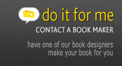 Have one of our book designers make your book for you